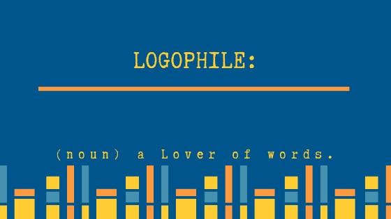 Logophile new blog banner